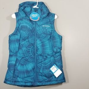 NEW COLUMBIA Size M Pike Lake Hooded Vest Womens